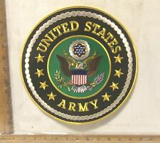 United States Army Embroidered Back Patch