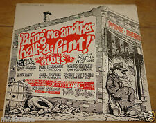 BRING ME ANOTHER HALF USA BARRELHOUSE HARMONICA BLUES LP ROBERT CRUMB COVER ART