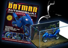 COLECCION COCHES DE METAL ESCALA 1:43 BATMAN AUTOMOBILIA Nº 38 LEGENDS BATCYCLE