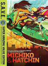 Michiko & Hatchin: The Complete Series (DVD, 2015, 4-Disc Set, S.A.V.E.)