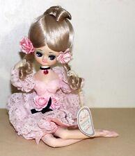 vintage Bradley big eye Japan pose doll  PRETTY IN PIGTAILS