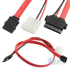 50cm 13Pin Female SATA To Slimline 7pin Female SATA Adapter Connector Cable Lead