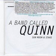 (DC309) A Band Called Quinn, Sun Moon & Stars - 2009 DJ CD