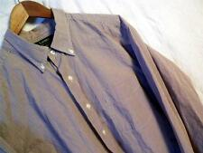 Ralph Lauren Mens Cotton Long Sleeve Dress Shirt 17 34/35  Gingham w Yoke Pocket