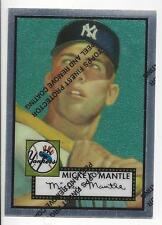 Mickey Mantle 1996 Topps Finest Reprints card #2 1952 Topps