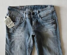 G-star Raw Women Jean 24 W x 30 Midge Cody Skinny Light Aged Wash New w/ Tags
