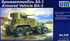 BA-3 - WW II SOVIET HEAVY ARMOURED CAR 1/72 UM RARE