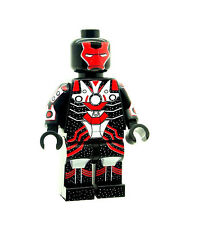 Custom Minifigure Ironman Star Flame Superhero Iron Man Printed on LEGO Parts
