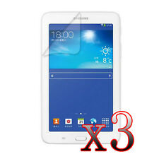 """W10 3x Clear LCD Screen Protector for Samsung Galaxy Tab 3 Lite 7.0"""" SM-T110"""