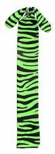NEON GREEN ZEBRA LYCRA TAIL BAG TOUGH 1 NEW HORSE TACK GROOMING