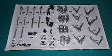 Lamborghini Aventador LP-700-4 Pocher 1/8 Metal Suspension Parts Bag.