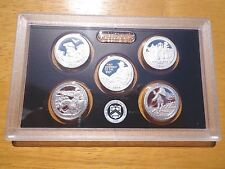 2016 S SILVER Proof America The Beautiful Quarter Set  No Box or Coa