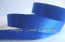 "3yd of Royal Blue 5/8"" Double Face Satin Ribbon 5/8"" x 3 yards neatly wound"