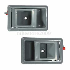 Pair Gray Inside Interior Door Handle for Toyota Tacoma 4Runner Pickup Corolla