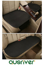 New Universal Seat Cover Set Front& Rear Binding Free For Mazda 2 3 6 CX-5 Black