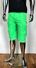 CYBERDOG MEN Neon Green RAVE SHORTS Pants Trousers Circuit Raver BURNING MAN