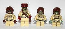 LEGO original PARTS - STAR WARS - custom 4 NABOO troopers ALLIANCE ARMY rebel