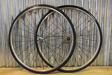 Mavic Open Pro Sport 700C Wheels Specialized Hubs Vittoria Tires 8 Speed Retro