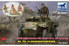 BRONCO CB35009SP 1/35 WWII British Humber Mk.I Scout Car & AFV Crew Set