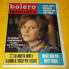 BOLERO FILM 1970 n. 1198 Claudia Cardinale, Al Bano, Patty Pravo, Loretta Goggi