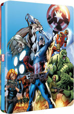 THE ULTIMATE AVENGERS COLLECTION - UK BLU-RAY STEELBOOK / NEW & SEALED / OOP