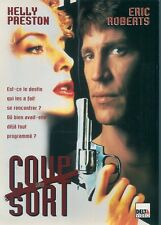 AFFICHE PROMO VIDEO CLUB--COUP DU SORT--PRESTON/ROBERTS