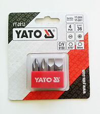 YATO YT-2812 Destornillador Set De Brocas PH 2/3 PLANO 8/10
