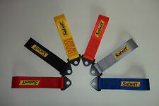 SABELT TOW STRAP -RED- race/rally/trackday/rally X/sprint/hill climb/motorsport