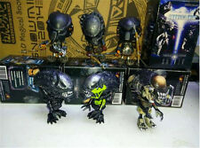 6PCS COSBABY AVP Alien WOLF PREDATOR Figure Model Toy Collect