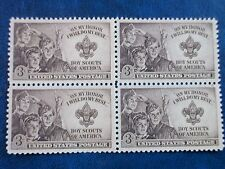 Boy Scouts-the USPS stamp (block of 4)  995