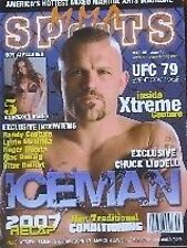 08 MMA SPORT RANDY COUTURE CHUCK LIDDELL GRAPPLING JIU-JITSU KARATE MARTIAL ARTS