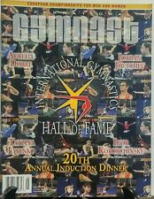International Gymnast June 2016 Hall of Fame 20th Annual Dinner FREE SHIPPING sb