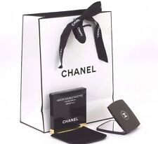 NEW GENUINE CHANEL MAKE UP MIRROR GIFT FOR HER WITH GIFT BAG TISSUE CC RIBBON