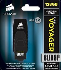 CORSAIR CMFSL3B-128GB Voyager Slider 128GB USB 3.0 Flash Drive ✔NEW✔