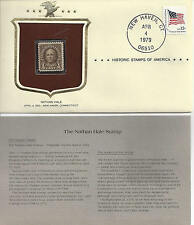Historic Stamps of America NATHAN HALE Commemorative Stamp