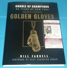 Gerry Cooney Signed Auto Autographed JSA Rare Book Boxing Golden Gloves + 3 More