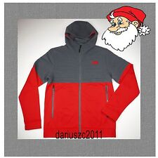 THE NORTH FACE SIZE M  FULL ZIP PETRA HOODIE -RTO  RED/GRAY JACKET