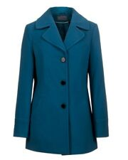 New Womens Ladies gorgeous teal A - line winter coat plus size 20