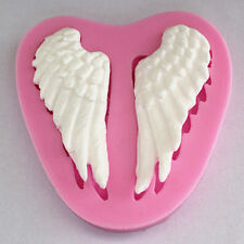 Angel Wings Silicone Chocolate Mould Fondant Bakeware Baking Cake Cupcake Mold
