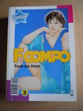 F. COMPO Tsukasa Hojo Vol. 3 edizione Star Comics   [G371C]