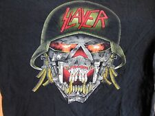 Vintage SLAYER Concert Shirt 1991 Clash Of The Titans Tour Size Lg True Original