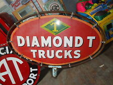 Diamond T Pickup Truck Sign 1941 1942 1946 1947 1948 1949 1950 1951 1952 1953