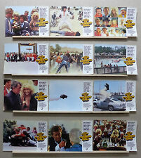 The Cannonball Run Burt Reynolds Roger Moore Farrah Fawcett Lobby Set Spain 1981