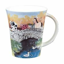 Alex Clark Fine Bone China Flirt Mug - Animal Bridge - Horse - Cow - Pig