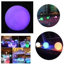 LED Cambia Colore Palla Sfera Notte Luce Partito Home Room Arredamento Lampada