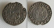Collectable Hammered Silver Elizabeth I Threepence - 1573 - Taller Bust Type