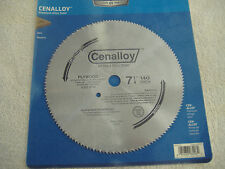 "7 1/4"" 140 TOOTH  STEEL PLYWOOD CIRCULAR SAW BLADE  CENTURY"
