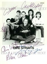 DIRE STRAITS BAND SIGNED AUTOGRAPHED 8x10 RP PHOTO SULTANS OF SWING