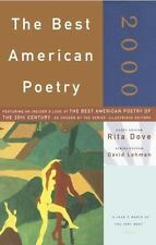 The Best American Poetry 2000 David Lehman Paperback