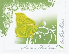 Finland 2010 MNH - Sweep of Wings of Butterfly - Issued May 4, 2010